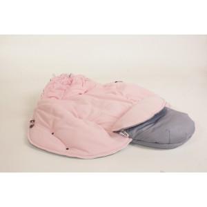 Gaiši pelēks - gaiši rozā